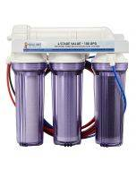 4 Stage Value 100 GPD RO/DI System - Bulk Reef Supply