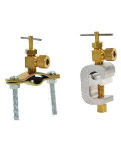 Self-Piercing Saddle Valve