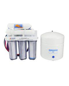 5 Stage 75GPD Drinking Water RO System with Silver Faucet