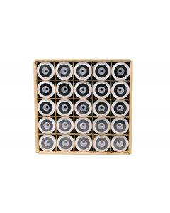 Case (25) of BRS Chlorine & VOC Carbon Block Filters - 5 Micron (RO/DI)