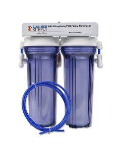 Dual DI Phosphate CO2 & Silica Eliminator with DM-1 Dual TDS Meter