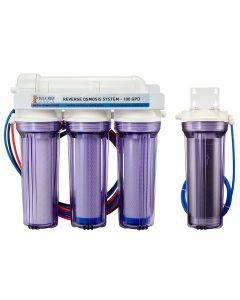 5 Stage Premium 100 GPD RO/DI System - Bulk Reef Supply