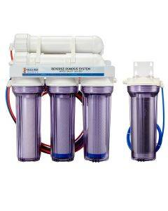 5 Stage Premium 200 GPD Water Saver RO/DI System Bulk Reef Supply