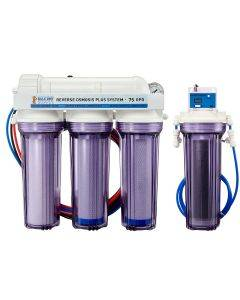 5 Stage Premium Plus 75 GPD RO/DI System - Bulk Reef Supply