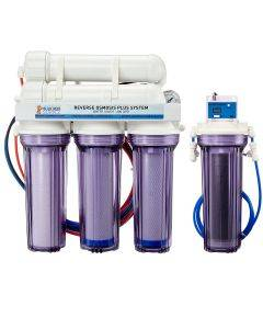 5 Stage Premium Plus 200 GPD Water Saver RO/DI System - Bulk Reef Supply