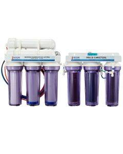7 Stage PRO Plus 150 GPD Water Saver RO/DI System