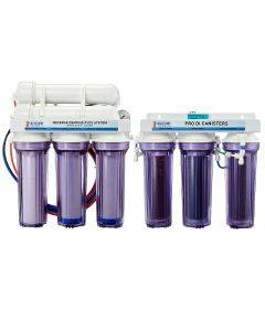 7 Stage PRO Plus 200 GPD Water Saver RO/DI System