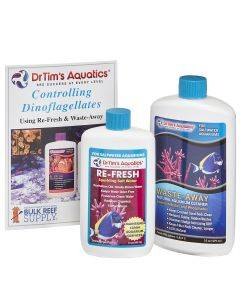 150 gallon Dinoflagellate Treatment Bundle