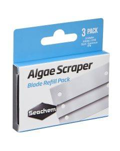 Replacement Metal Blades for Seachem Algae Scaper (3 Pack)