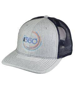 BRS 360 Hat - Gray/Navy