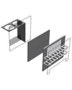 20 Gallon Long Sump Baffle Kit (OPEN BOX) - Fiji Cube