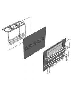 40 Gallon Breeder Sump Baffle Kit