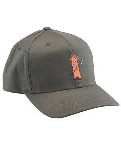 Mr. Chili Hat - Gray FlexFit