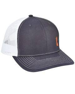 Mr. Chili Hat - White/Blue Meshback