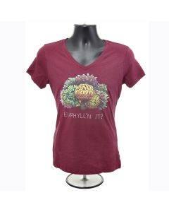 Euphyllin' It V-Neck T-Shirt - (Womens) - Bulk Reef Supply