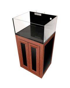 Nuvo EXT 25 Lagoon Aquarium with Wood APS Stand - Innovative Marine (DISCONTINUED)