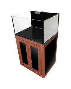 Nuvo EXT 50 Lagoon Aquarium with Wood APS Stand - Innovative Marine (DISCONTINUED)