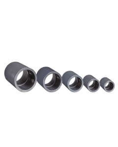 Metric to Standard PVC Coupler - Slip X Slip
