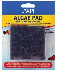Doc Wellfish`s Hand Held Algae Pad (Glass Aquariums) 3 inch x 3 inch - API