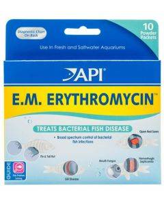 EM Erythromycin Medication - 10ct Powder Packets - API