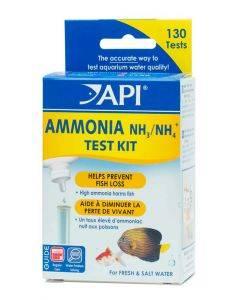 Freshwater/Saltwater Ammonia Test Kit, Test kit of 130 tests - API