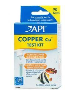 Freshwater/Saltwater Copper Test Kit, Test kit of 90 tests - API