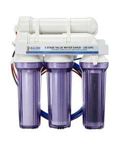 4 Stage Value 200GPD Water Saver RO/DI System