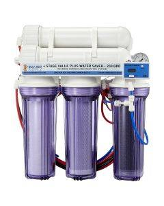 4 Stage Value Plus 200GPD Water Saver RO/DI System