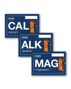 2-Part Label Stickers (Ca/Alk/Mg)