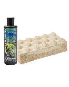 Xport-NO3 Dimpled Brick with 250mL Microbacter7 - Brightwell Aquatics