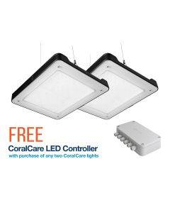 2x Philips CoralCare LED Lights (Black) - Bundle with FREE Controller