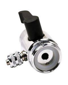 Chrome Faucet Diverter Valve