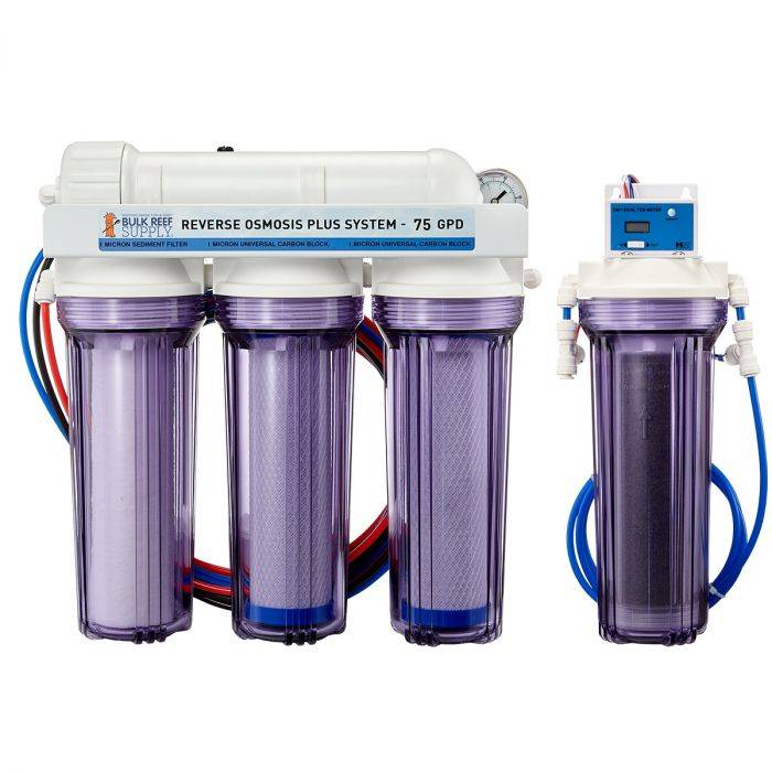 4 replacement  filter fit Reverse Osmosis 5 stages RO DI Sediment Carbon Inline