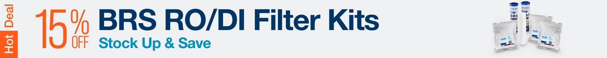 Filter Kit Sale - Save 15% on BRS filter kits