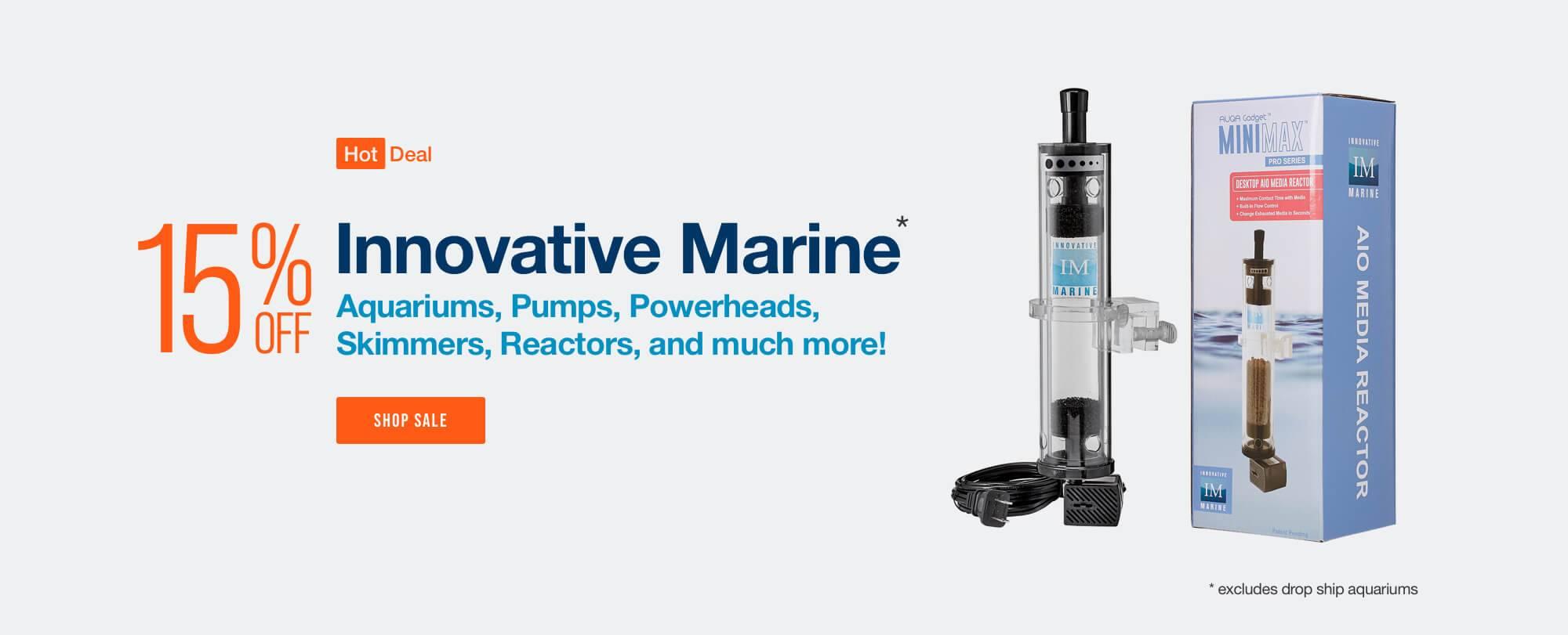 Save 15% off Innovative Marine (excludes drop ship) - Shop All Innovative Marine