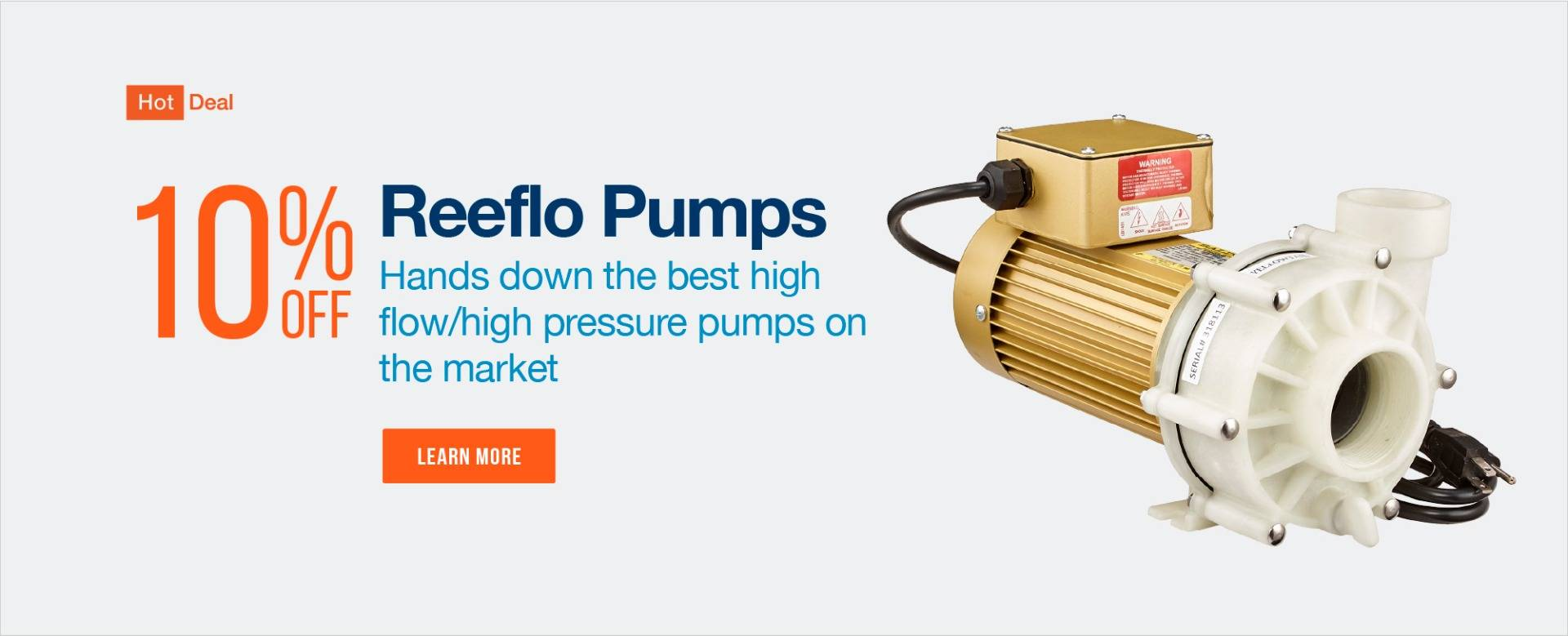 Save on Reeflo Pumps