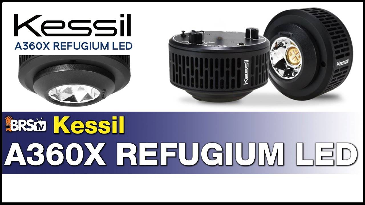Kessil A360x Refugium Light: Finally! A Fully controllable refugium LED horticulture light.