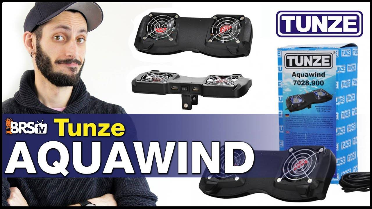 Tunze Aquawind Dual Fan : How to keep your reef tank from overheating. Try a fan!