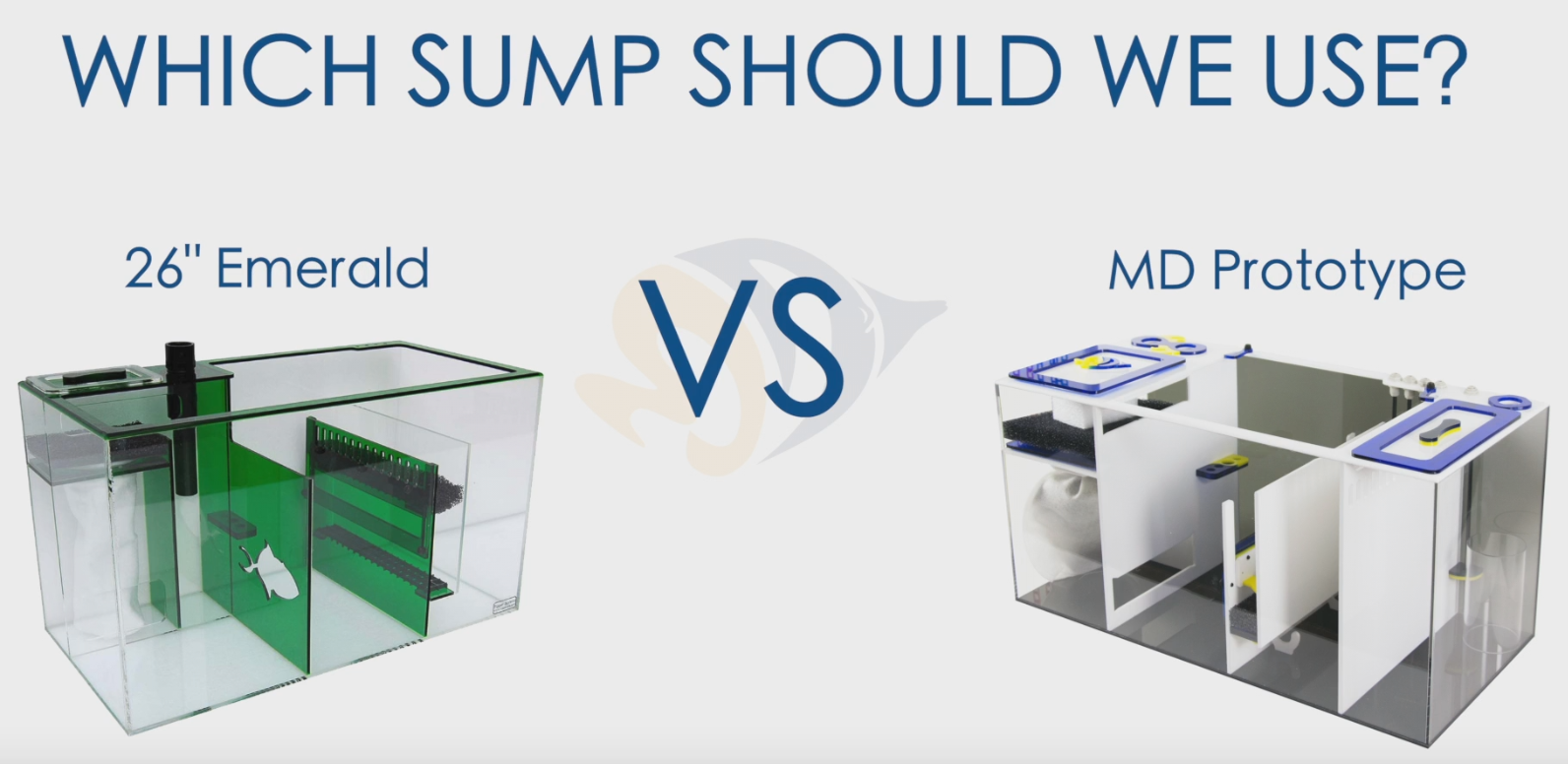 Drop Off Tank Build: Which Sump Should We Use?
