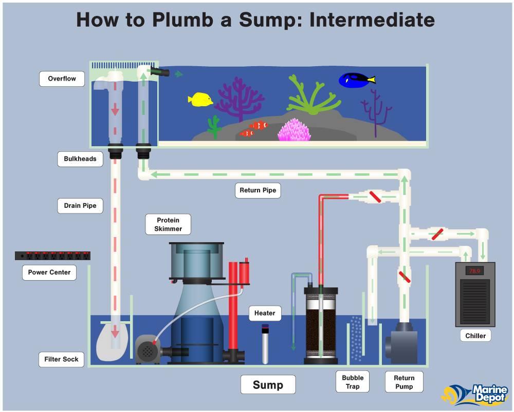 Intermediate Sump