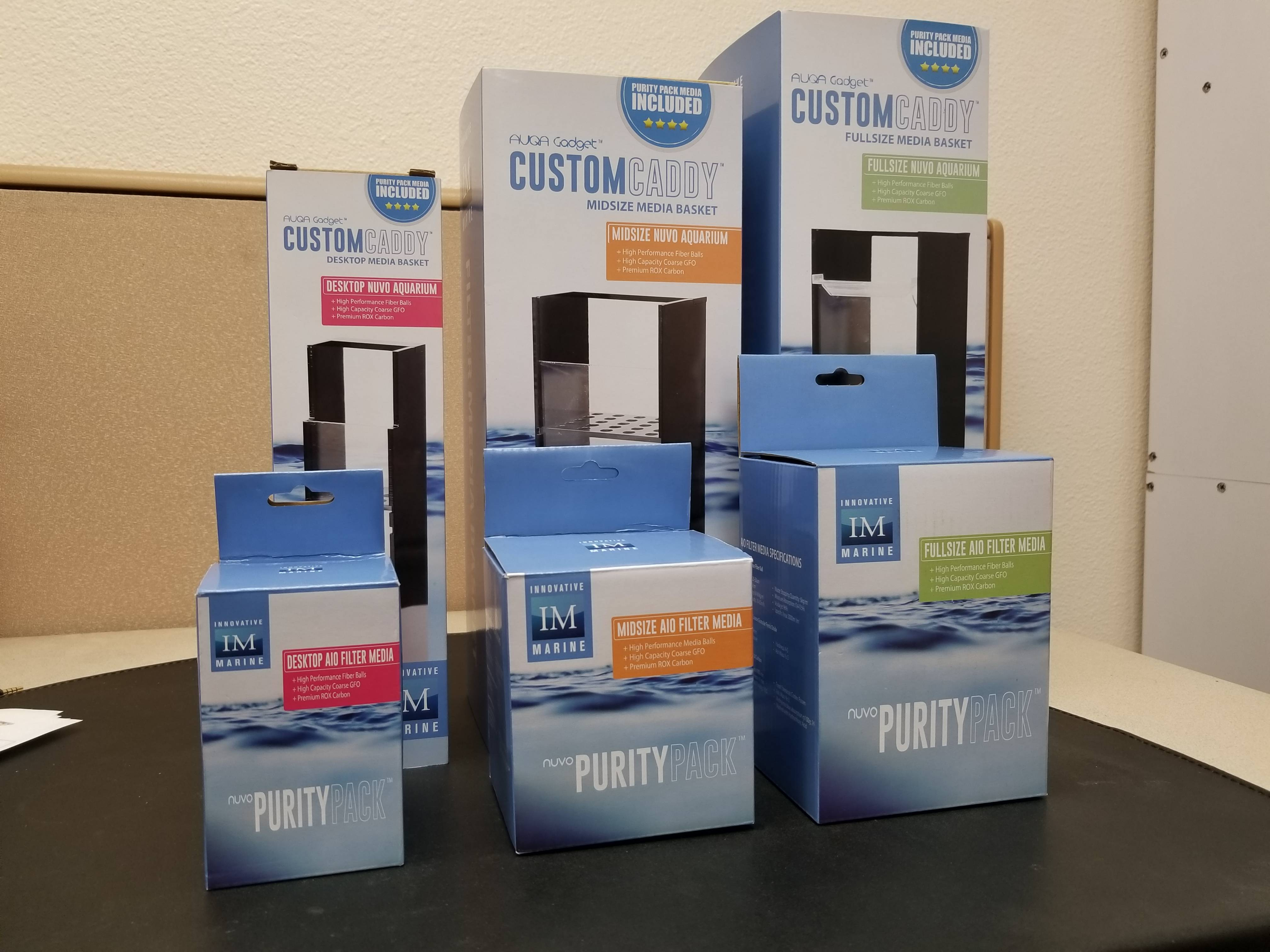 CustomCaddy and Purity Pack Family