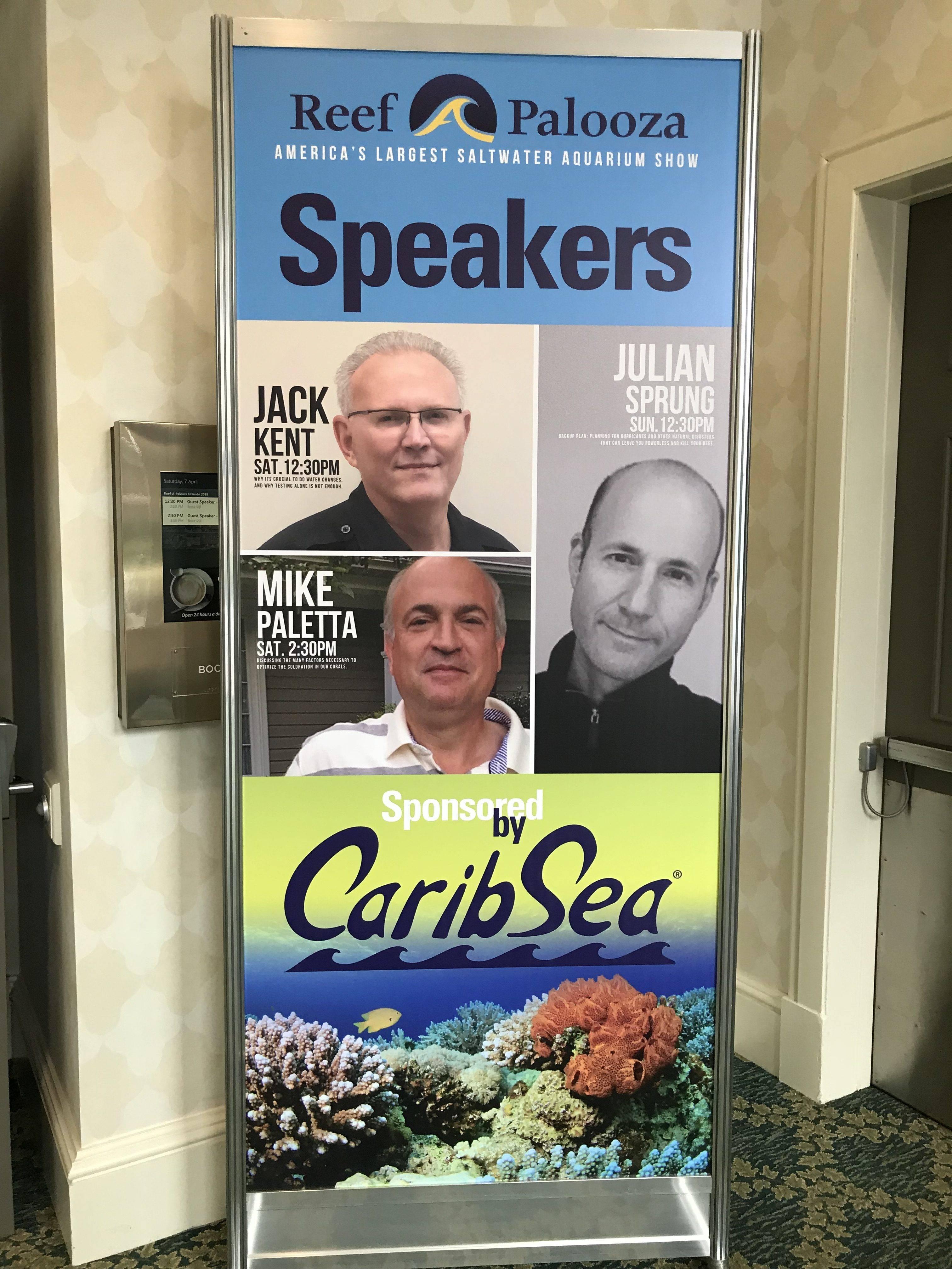 Speakers @ Reefaplooza Orlando