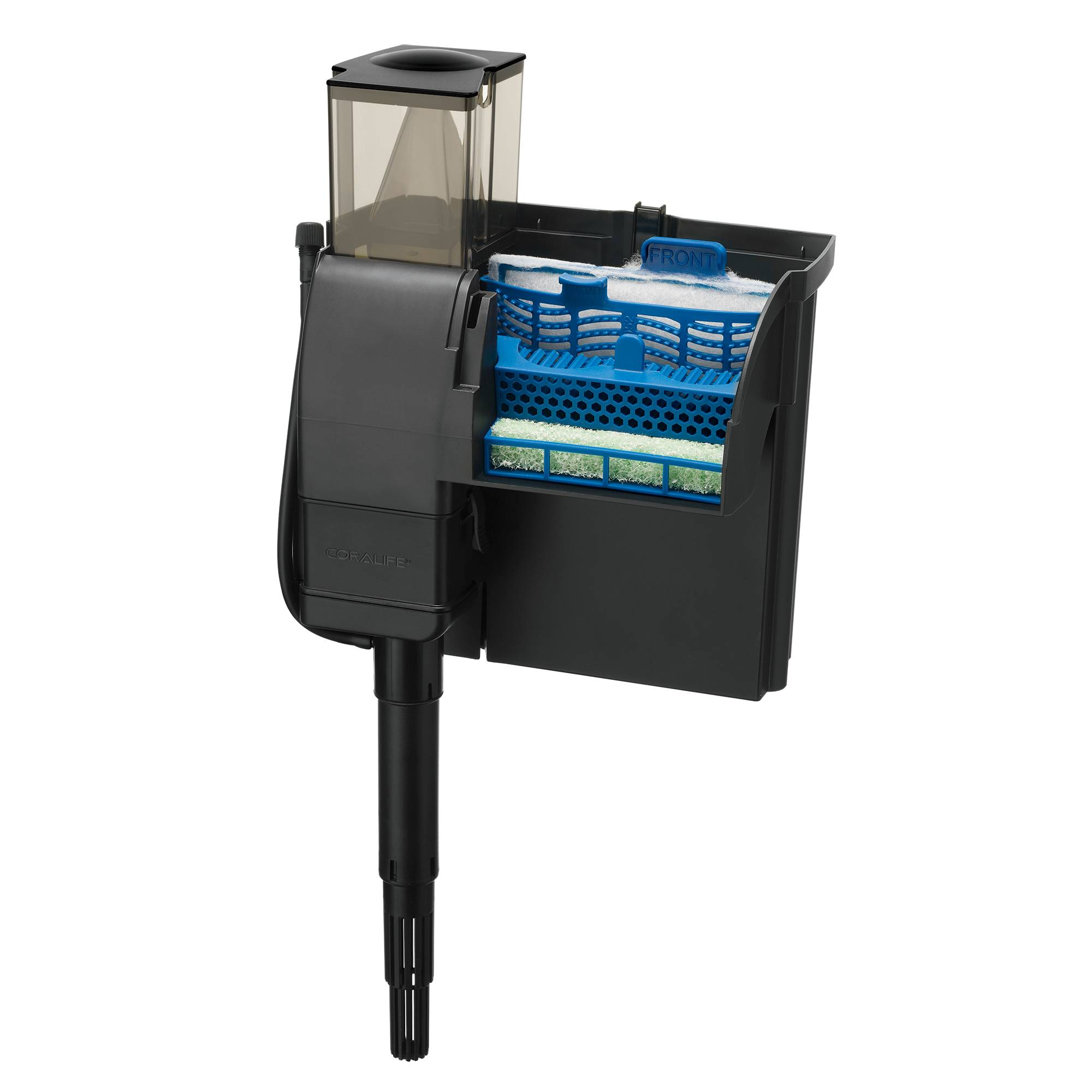 Is it a Protein Skimmer or Power Filter? Both! Meet the Compact 2-in-1 Coralife Marine Filter