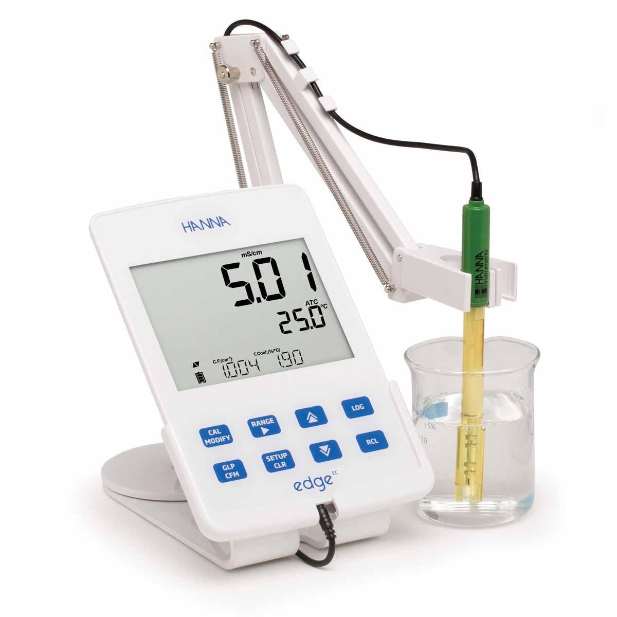 Hanna Instruments edge Dedicated Conductivity TDS Salinity Meter HI2003