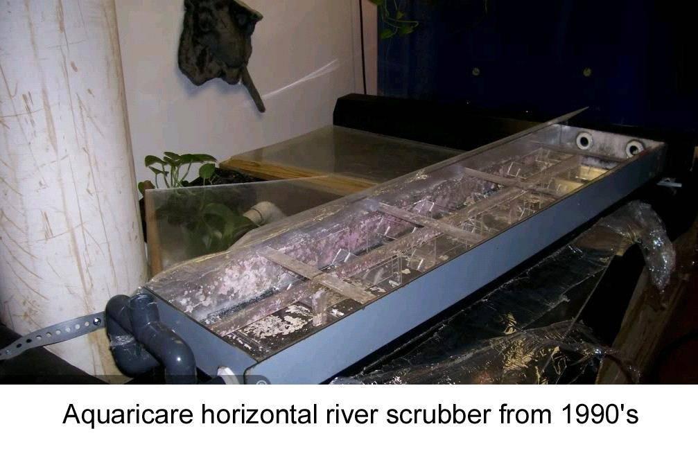 aquaricare horizontal river scrubber