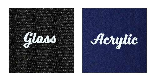 Glass vs Acrylic