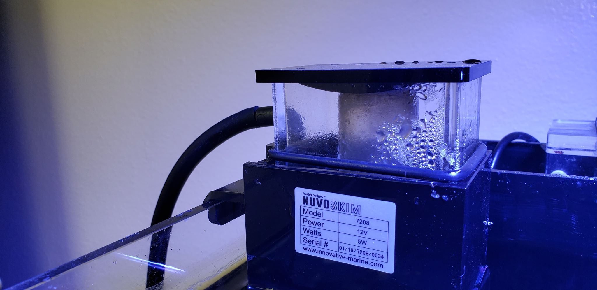 The NuvoSkim DC Universal is Innovative Marine's First Nano Protein Skimmer Built Specifically For Aquariums From Other Brands