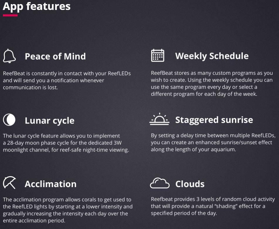 ReefBeat App Features