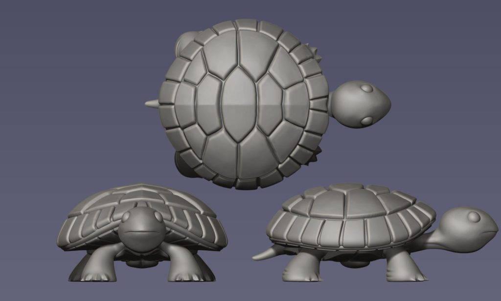 hope the turtle 3d rendering