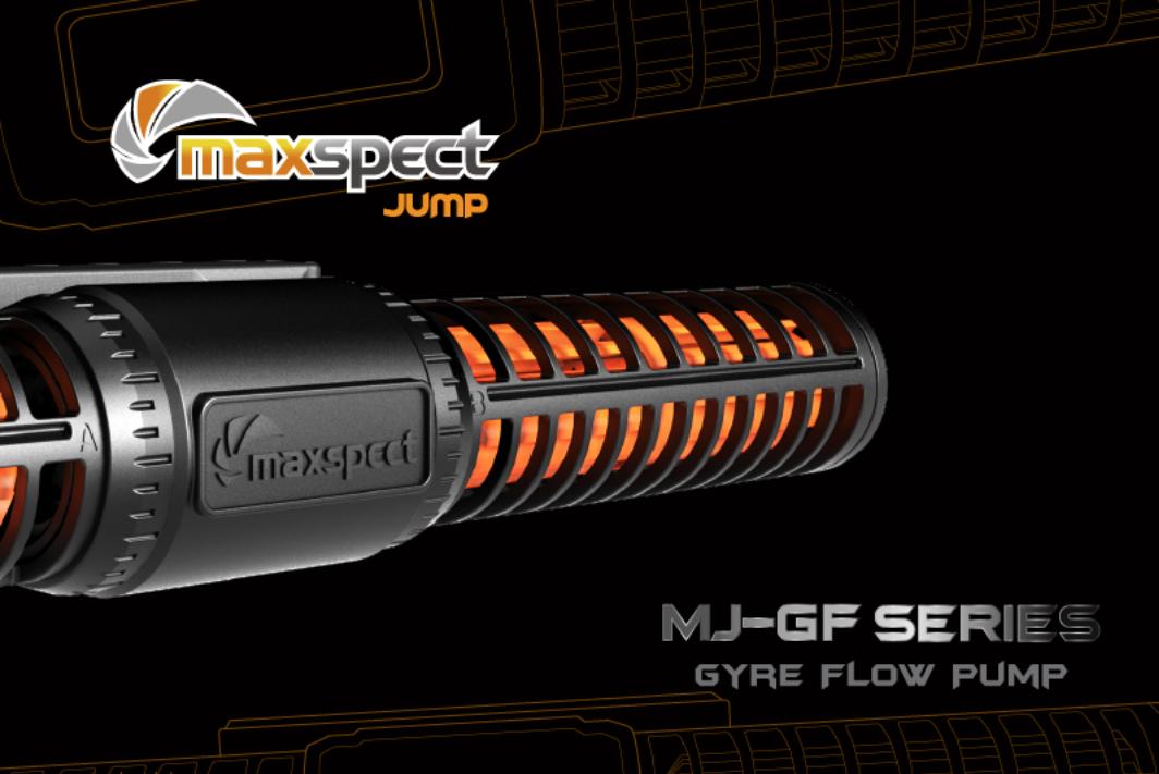 Maxspect launch MJ-GF Series Gyre Flow Pumps